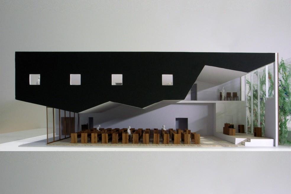 西川口キリスト教会設計競技案