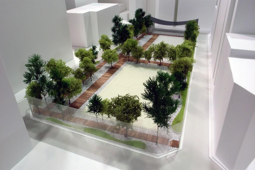 大久保公園整備計画設計競技案